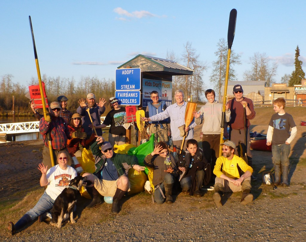 Chena River Cleanup 2012
