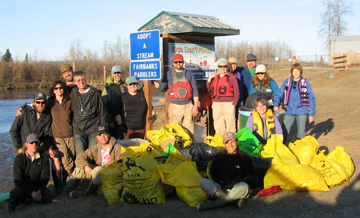 Chena River Cleanup 2013