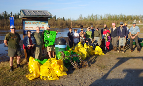 Chena River Cleanup – May 11, 2016