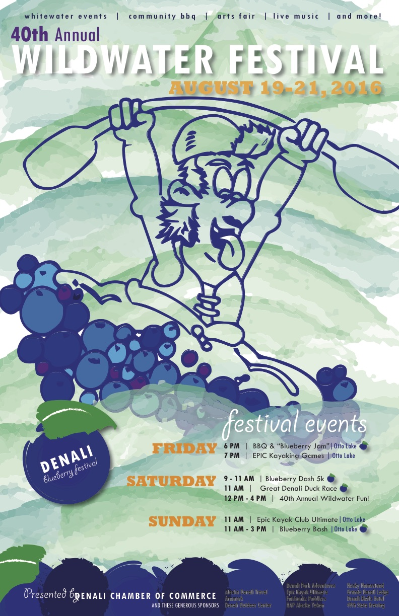 DCoC - Blueberry Festival - Wildwater Event POSTER - FINAL