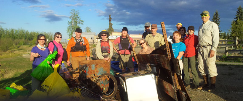 Chena River Clean Up – Rescheduled for May 24, 2017