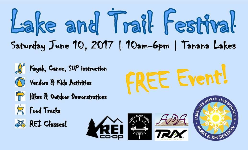 Lake and Trail Festival – June 10, 2017