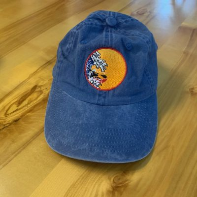 Fairbanks Paddlers Cap - Blue Kayak Logo