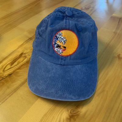 Fairbanks Paddlers Cap - Blue Kayak Logo