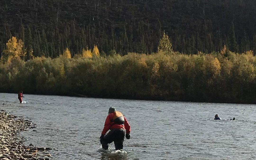 Alaska Canoe School Rescue Practice Course
