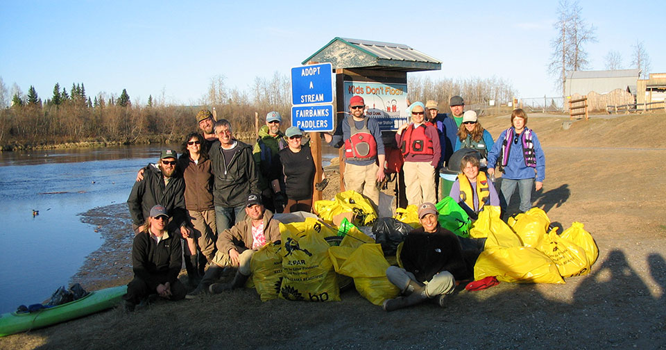 Chena River Clean Up – July 21, 2021